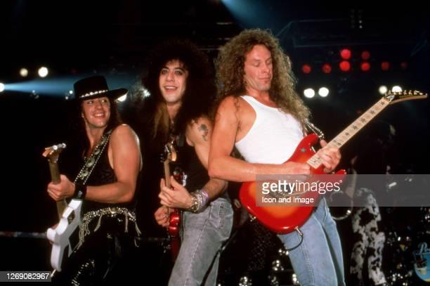 American rock guitarist best known as the lead guitarist for Bon Jovi, Richie Sambora, American bass guitarist for the progressive metal band...