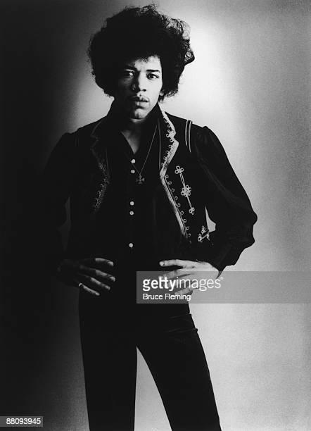 American rock guitarist Jimi Hendrix London Spring 1967