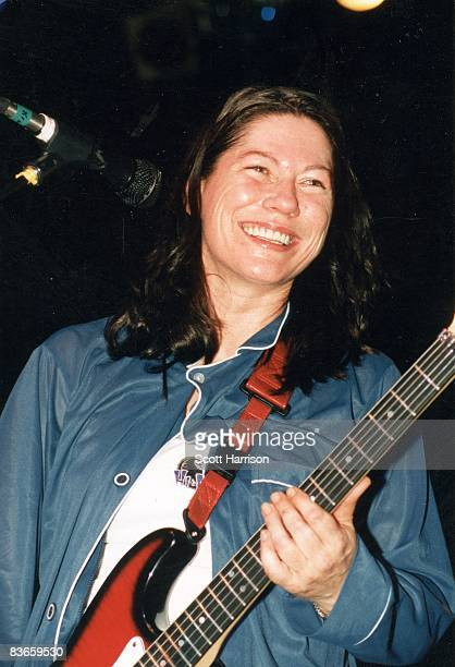 American rock musician Kim Deal of The Breeders performs onstage at the Huntridge Theater in Las Vegas Nevada 8th May 1997