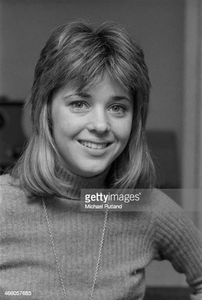 American rock singer and bassist Suzi Quatro April 1974