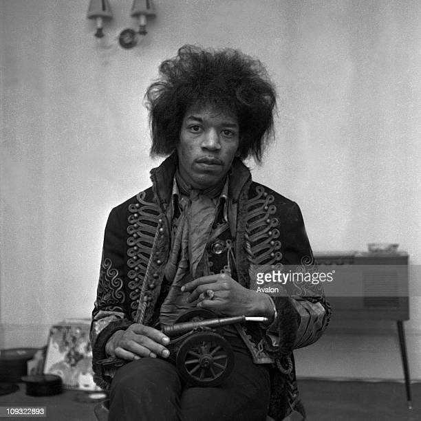 American Rock Singer and Guitarist Jimi Hendrix