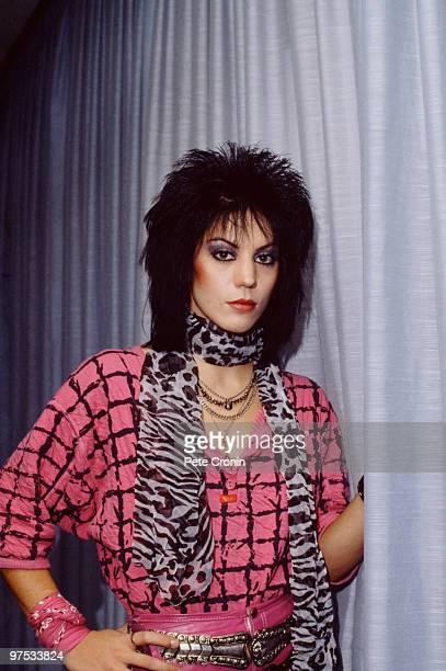 American rock singer and guitarist Joan Jett 1984
