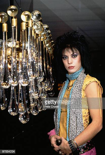 American rock singer and guitarist Joan Jett 1984
