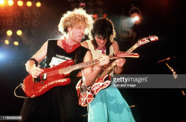 American rock vocalist, musician, songwriter and entrepreneur Sammy Hagar and Dutch-American lead guitarist and songwriter, both of the hard rock...