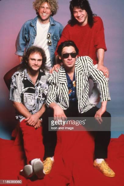 American rock vocalist songwriter and entrepreneur Sammy Hagar DutchAmerican lead guitarist and songwriter Eddie Van Halen DutchAmerican drummer Alex...