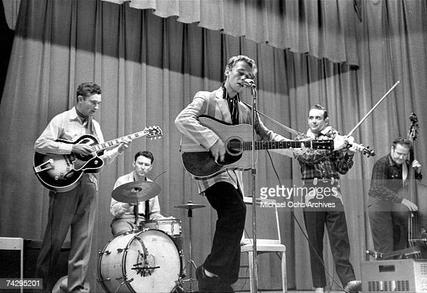 American rockabilly singer and songwriter Ronnie Self in concert Photo by Michael Ochs Archives/Getty Images