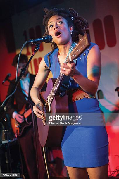 American roots musician Valerie June performing live on stage at the 100 club in London on March 5 2013