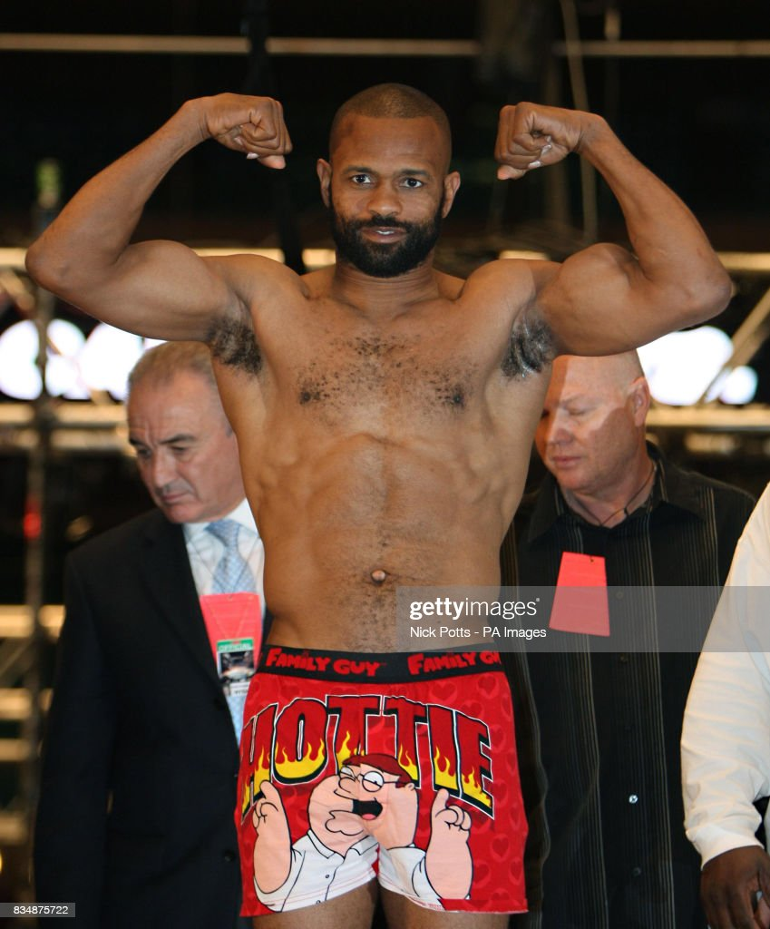 Boxing - Joe Calzaghe v Roy Jones Jr - Weigh-in - Madison Square ...