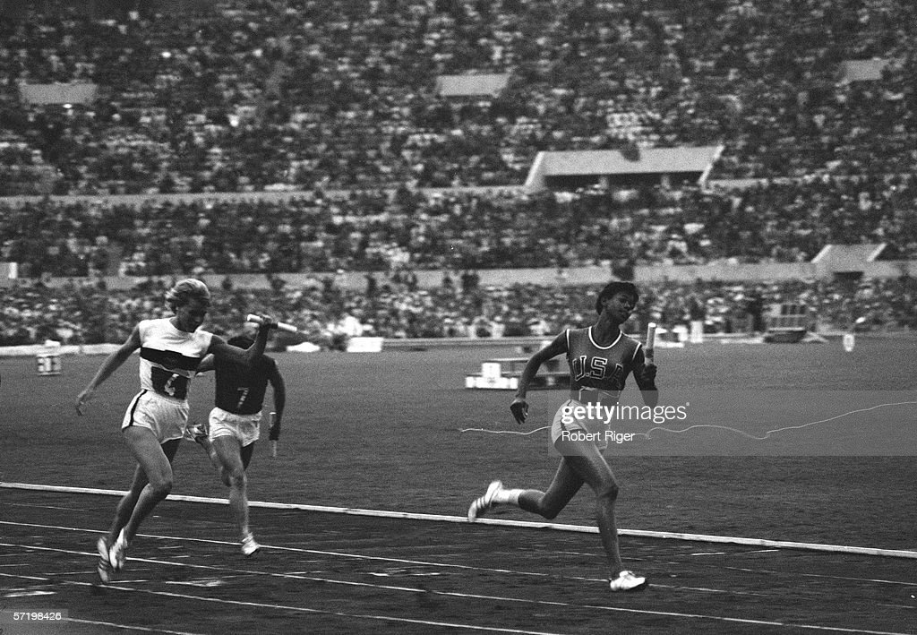Wilma Rudolph Wins The Gold : News Photo