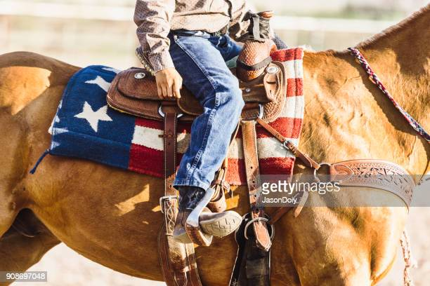 American Saddle Blanket Rider