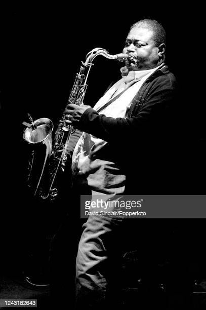 American saxophone player Alfred Pee Wee Ellis performs live on stage at Ronnie Scott's Jazz Club in Soho London on 23rd April 2009