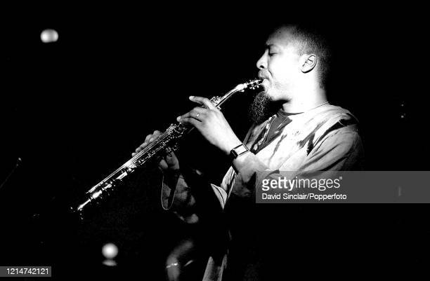 American saxophone player Ron Blake performs live on stage at PizzaExpress Jazz Club in Soho London on 6th May 2002