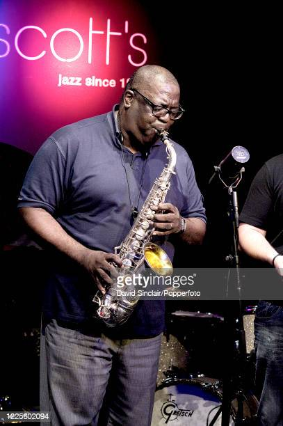 American saxophonist Jesse Davis performs live on stage at Ronnie Scott's Jazz Club in Soho London on 13th June 2013