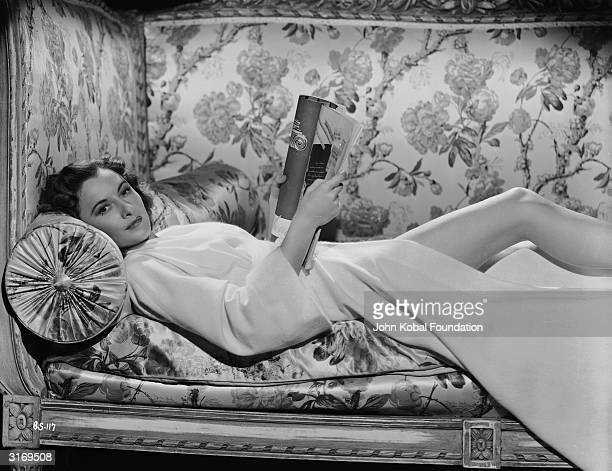 American screen star Barbara Stanwyck as Fiona Gaylord in 'The Gay Sisters' directed by Irving Rapper