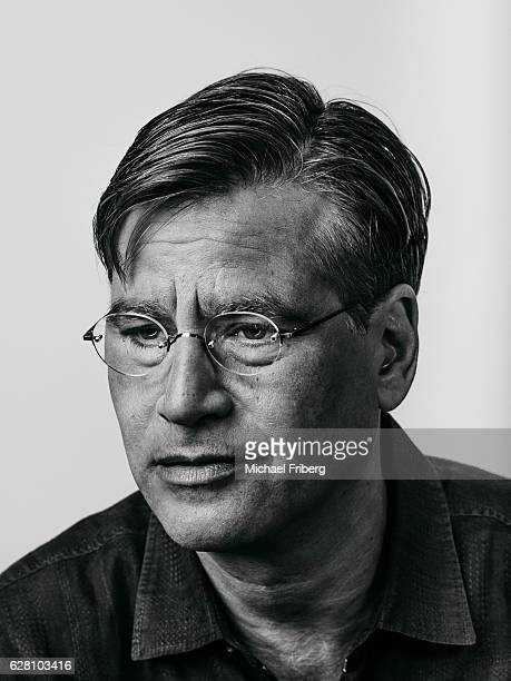 American screenwriter producer and playwright Aaron Sorkin is photographed for Wired Magazine on August 3 2015 in Los Angeles California PUBLISHED...