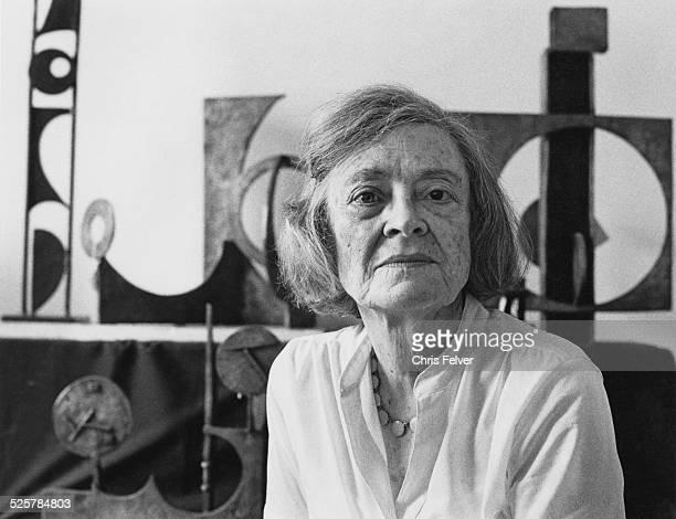 American sculptor Dorothy Dehner New York City 1985