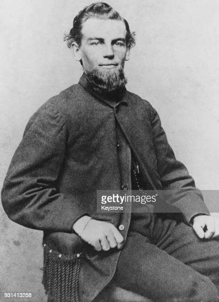 American seaman Benjamin Spooner Briggs Captain of the merchant ship 'Marie Celeste' circa 1870 The ship was found abandoned in the Atlantic Ocean...