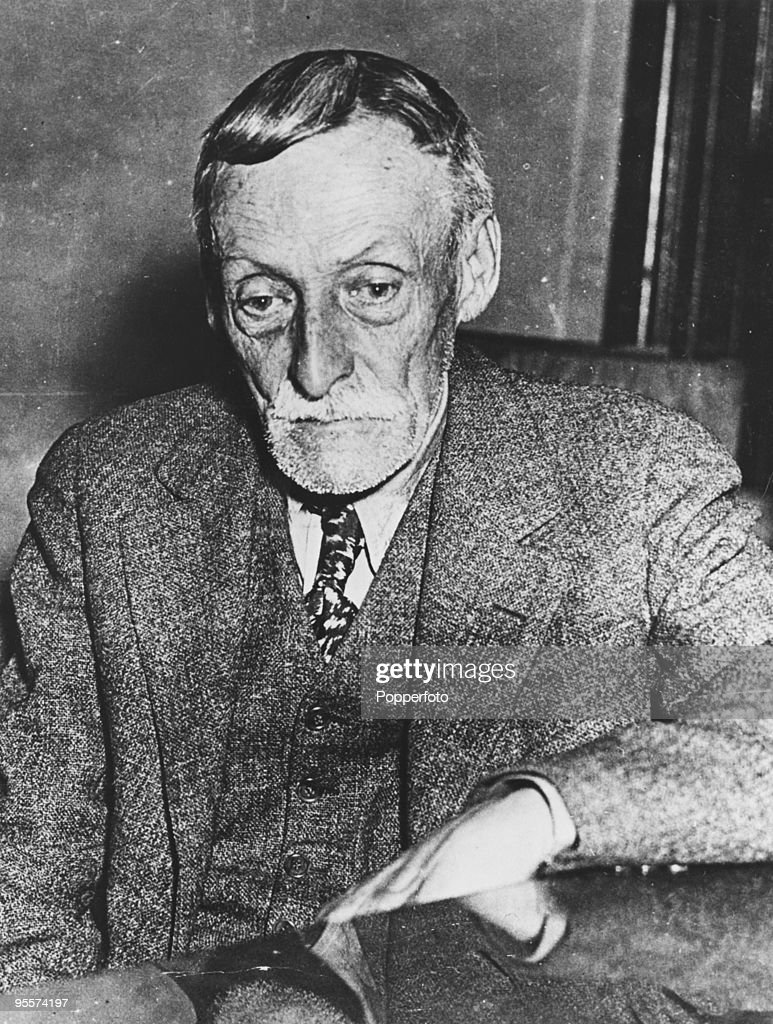 American serial killer Albert Fish (1870 - 1936), circa 1935. He was found guity of the murder of 10-year-old Grace Budd and executed in January 1936. He is also suspected of a number of other murders, and confessed to eating the flesh of his victims.