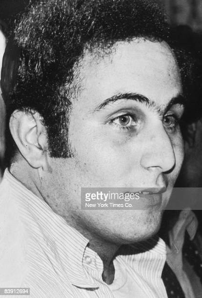 American serial killer David 'Son of Sam' Berkowitz being taken into police custody New York City 11th August 1977