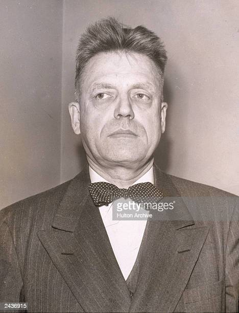 American sexuality researcher Alfred Kinsey 1948