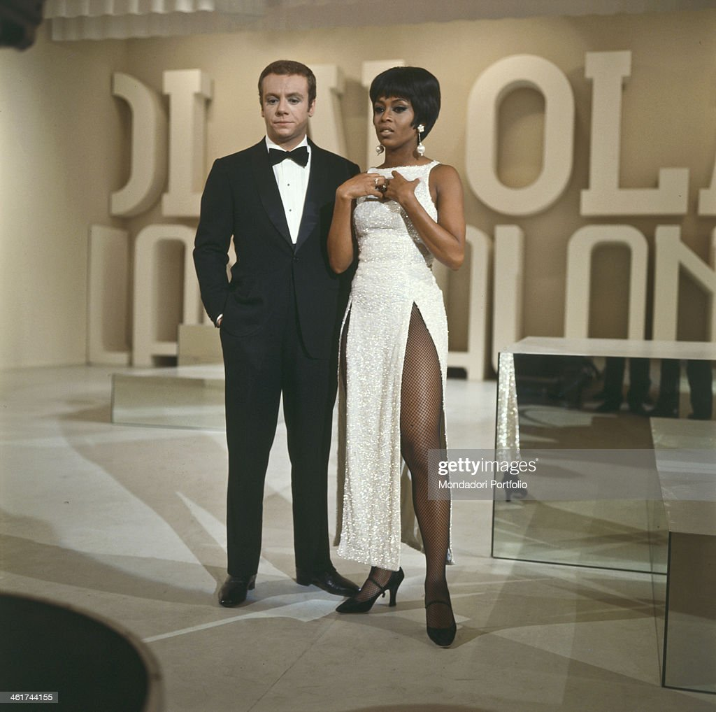Images Of Lola Falana Awesome lola falana and johnny dorelli wearing evening dresses in a