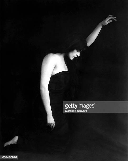 American silent film actress Theda Bara