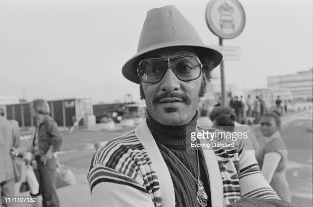 American singer Abdul Duke Fakir of The Four Tops UK 9th September 1976