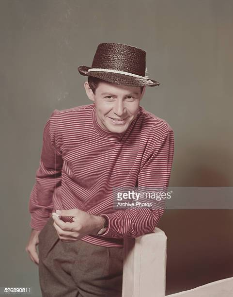 American singer, actor and entertainer Eddie Fisher , circa 1955.
