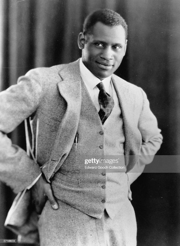 Paul Robeson : News Photo