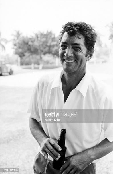 American singer actor comedian Dean Martin on location for The Ambushers circa 1967 in Acapulco Mexico
