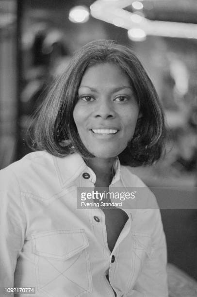 American singer actress and television show host Dionne Warwick UK 16th June 1975