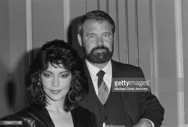 American singer actress former model and talent manager Apollonia Kotero and American singer guitarist songwriter television host and actor Glen...