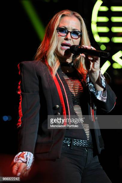 American singer Anastacia performs in concert at Auditorium Parco della Musica Rome May 7th 2018