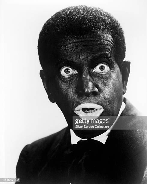 American singer and actor Al Jolson in blackface circa 1930