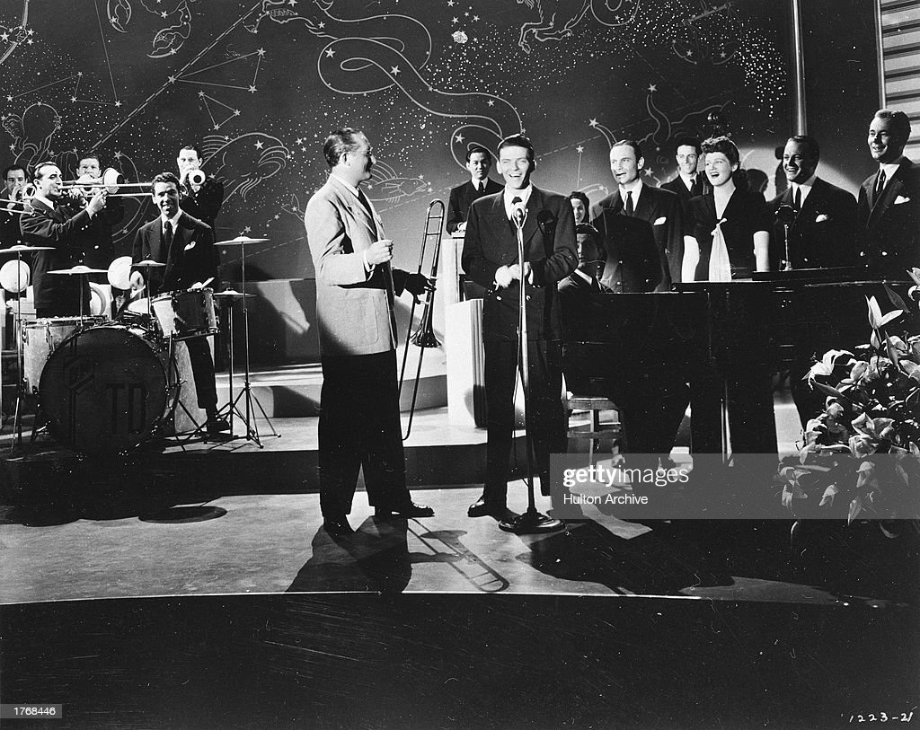 Sinatra With Tommy Dorsey & His Orchestra : News Photo