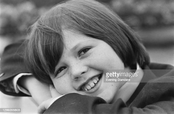 American singer and actor Jimmy Osmond, UK, November 1972.