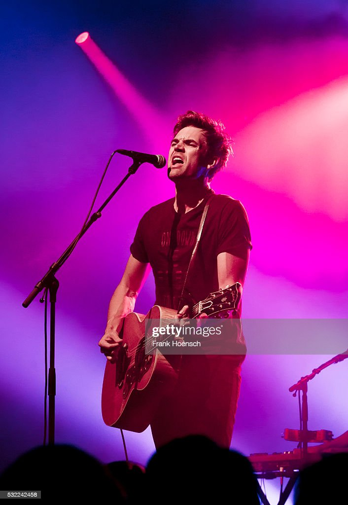 American Singer And Actor Tyler Hilton Performs Live During A Concert At The Columbia Theater On
