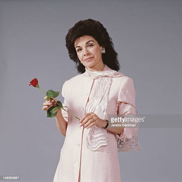 American singer and actress Annette Funicello New York City 1998