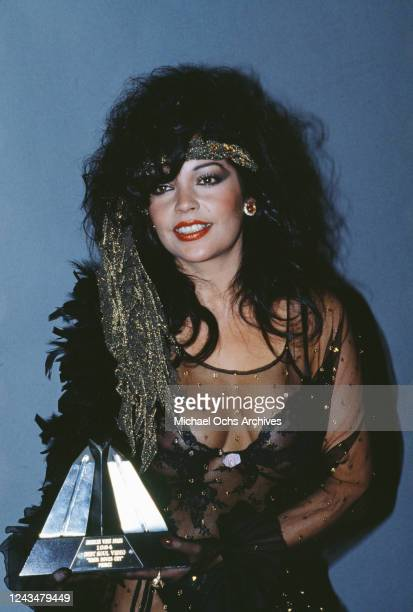 American singer and actress Apollonia Kotero attends the 3rd Annual American Video Awards held at the Santa Monica Civic Center in Santa Monica...