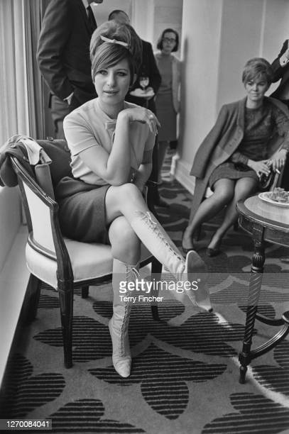 American singer and actress Barbra Streisand in London, UK, 20th March 1966.