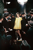 American singer and actress barbra streisand surrounded by some men picture id495401300?s=170x170