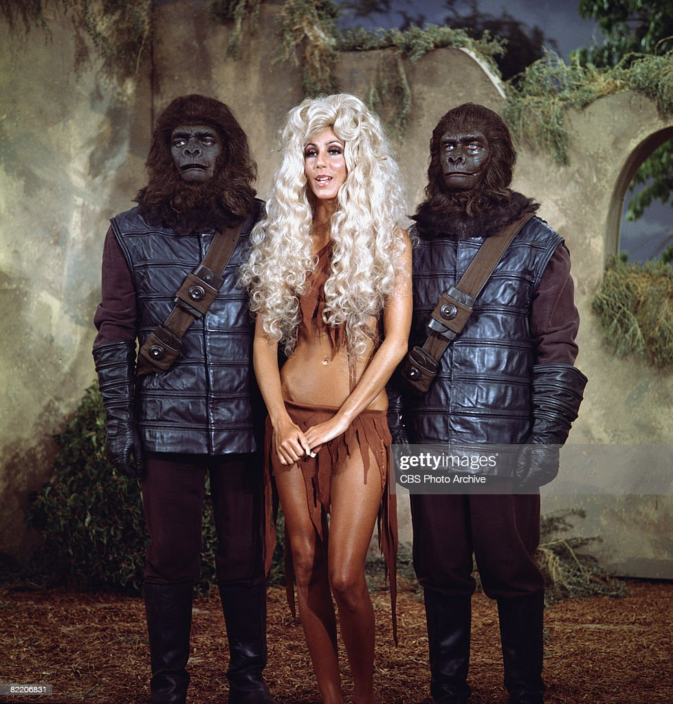 'Planet Of The Apes' On 'The Sonny & Cher Comedy Hour' : News Photo