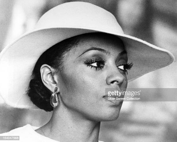 American singer and actress Diana Ross as Tracy in 'Mahogany' directed by Berry Gordy 1975