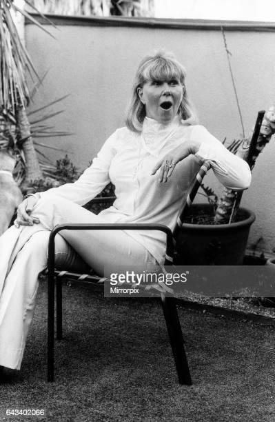 American singer and actress Doris Day at her home in Beverly Hills Los Angeles 26th August 1980