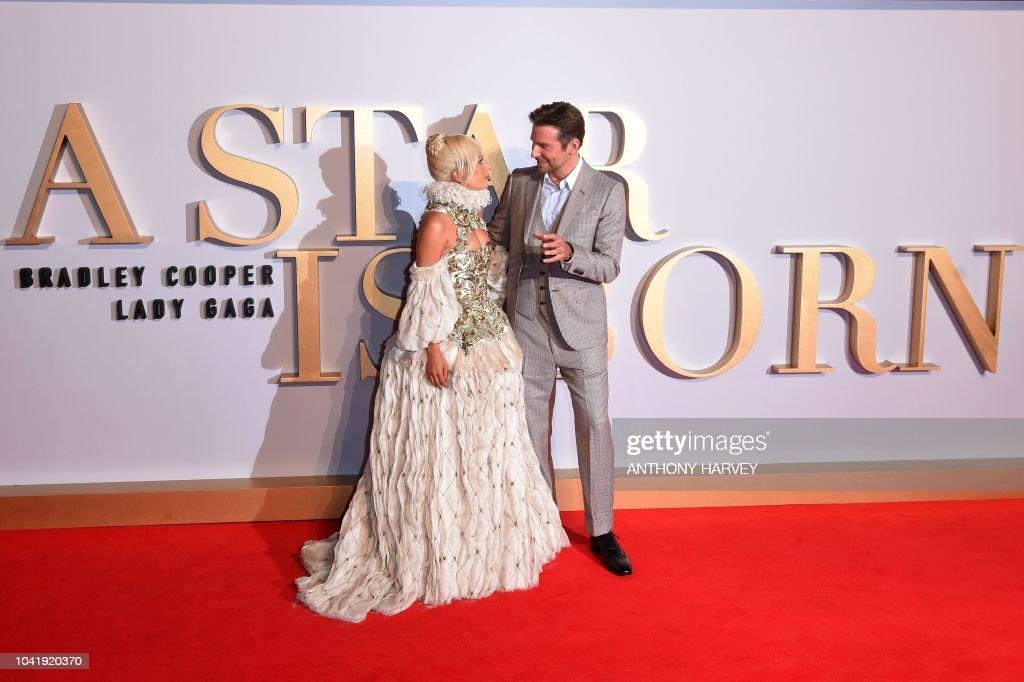 BRITAIN-CINEMA-A STAR IS BORN : Foto di attualità