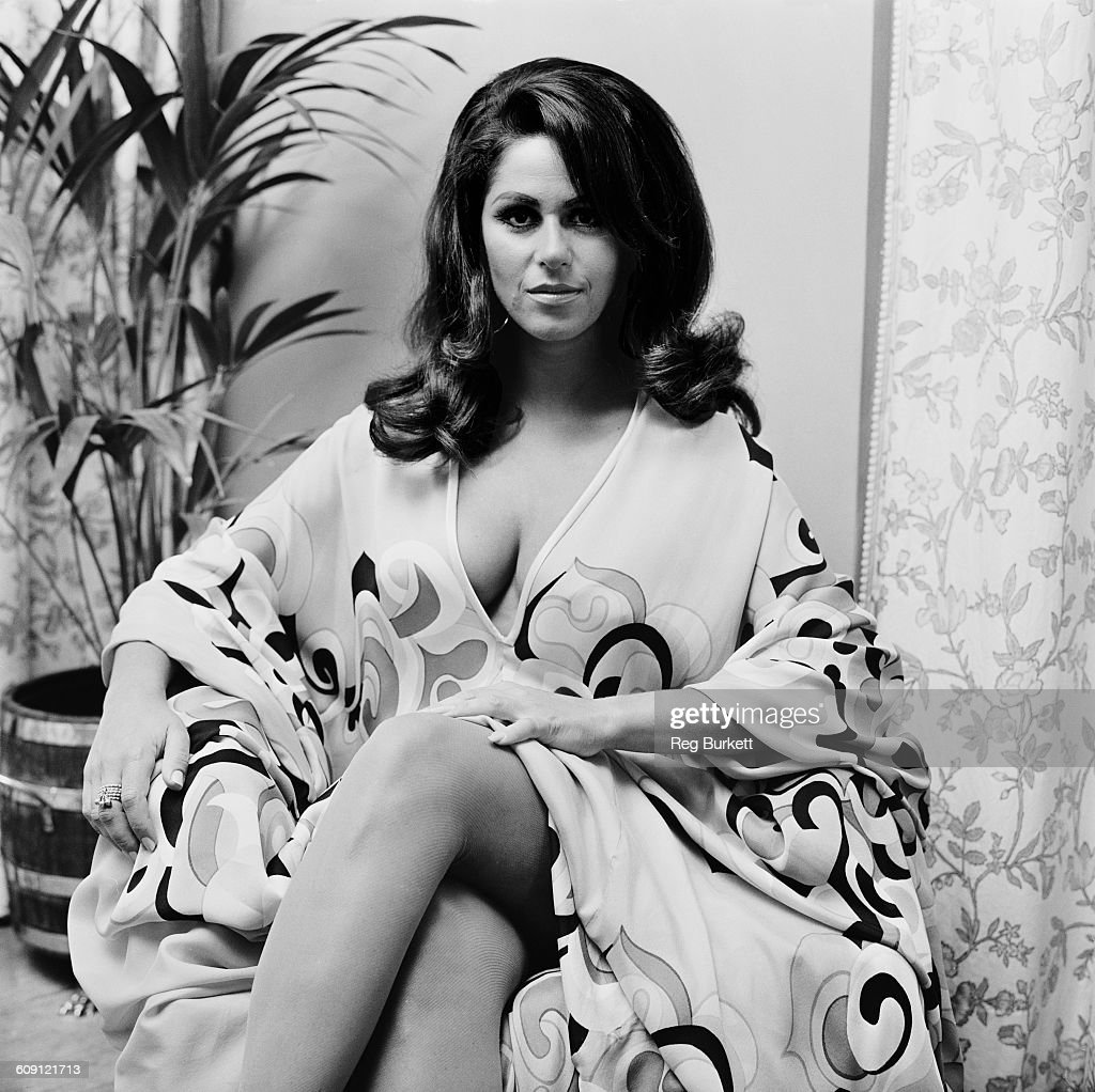 American singer and actress Lainie Kazan, UK, 29th July 1970.