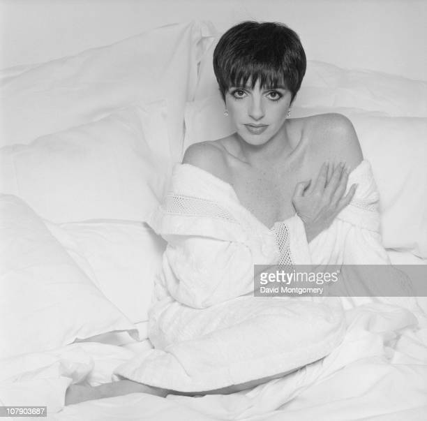 American singer and actress Liza Minnelli 1st July 1991