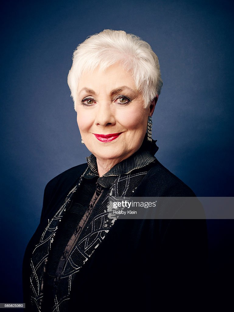 American singer and actress of stage, film and television Shirley Jones is photographed at the Hallmark Channel Summer 2016 TCA's on July 27, 2016 in Los Angeles, California.