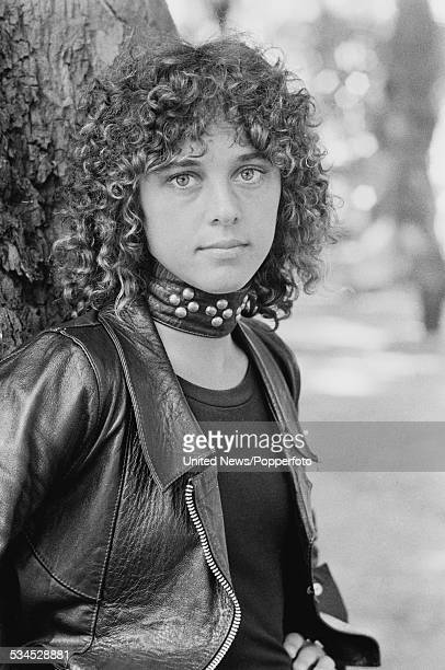 American singer and bass guitarist Suzi Quatro in London on 2nd August 1976