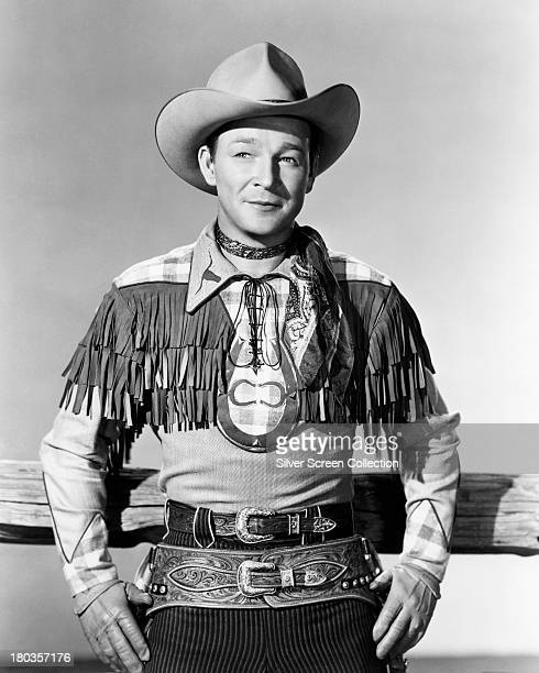 American singer and cowboy actor Roy Rogers circa 1940 Photo by Silver Screen Collection/Getty Images